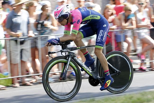 Tour de France 2015 - 102a Edizione - 1a tappa Utrecht - Utrecht 13.8 km - 04/07/2015 - Rui Alberto Faria Da Costa (Lampre - Merida) - foto Luca Bettini/BettiniPhoto©2015