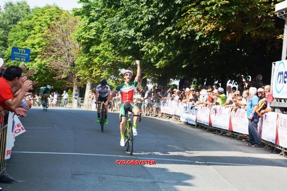 Pacchiardo vince 44^ Freccia dei Vini (gio.more)