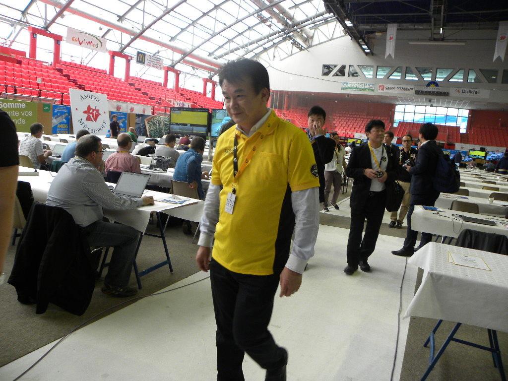Hayato Shimizu organizzatore giapponese (Foto Nastasi)
