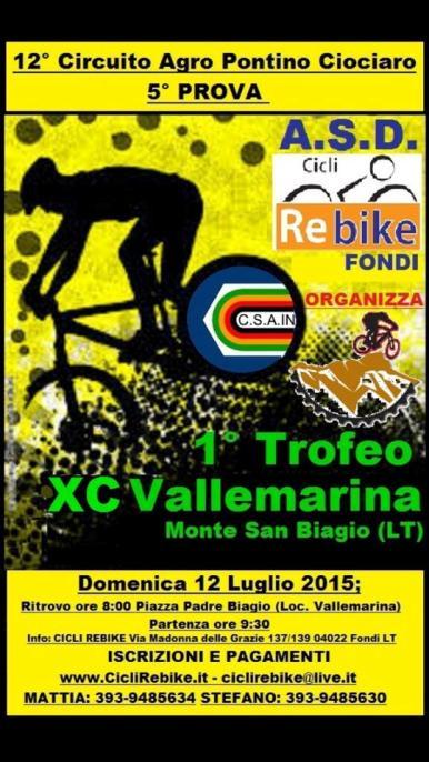 10.07.15 - Locandina XC Vallemarina