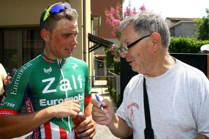 Maronese intervistato da Bernardi  (Foto Berry)