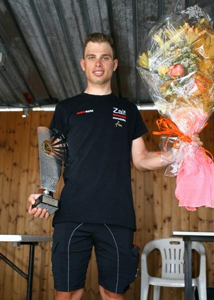 La premiazione di Marco Maronese (Foto Berry)