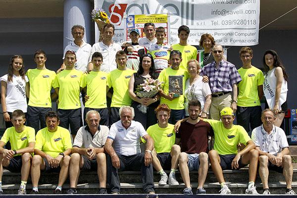 Team LVF, Organizzatori e Autorita^ ad Olgiate Molgora (Foto Kia)