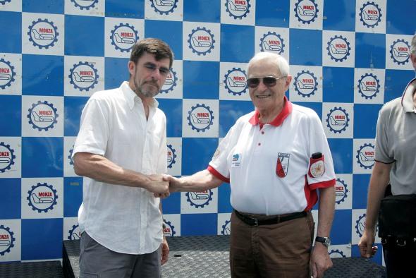 A destra, Giorgio Albani (Foto di Antonio Pisoni)
