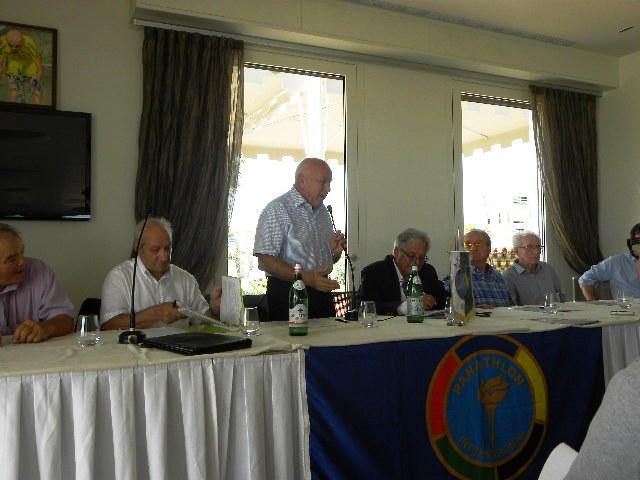 Pino Buda, titolare della Sidermec e icona del ciclismo romagnolo (Foto Nastasi)