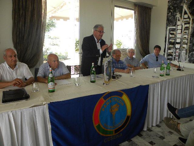 Giorgio Martino, Conduttore della Conferenza Stampa (Foto Nastasi)