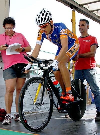Giorgio Ghiron al via (Foto Kia)