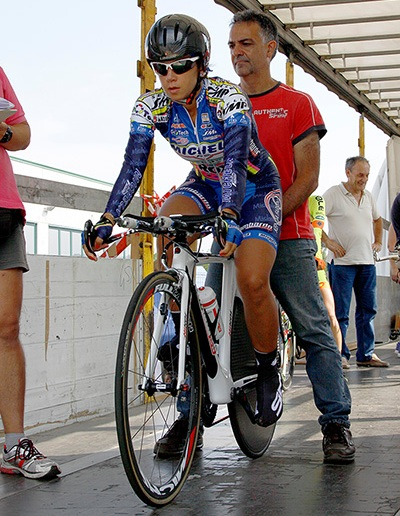 Nina Gulino al via (Foto Kia)