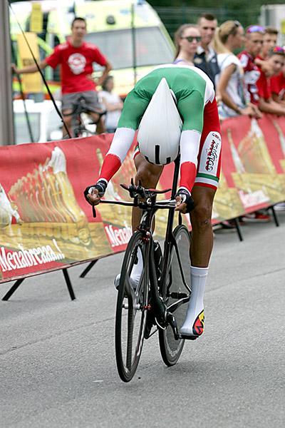 Davide Martinelli in azione (Foto Kia)