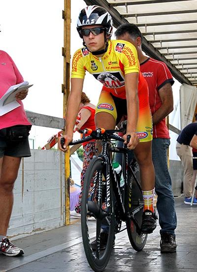 Sebastiano Pasini al via (Foto Kia)