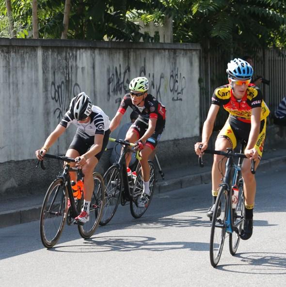 Da sx Meneguzzo, Ravagnani e Bernardinelli (Foto Pisoni)