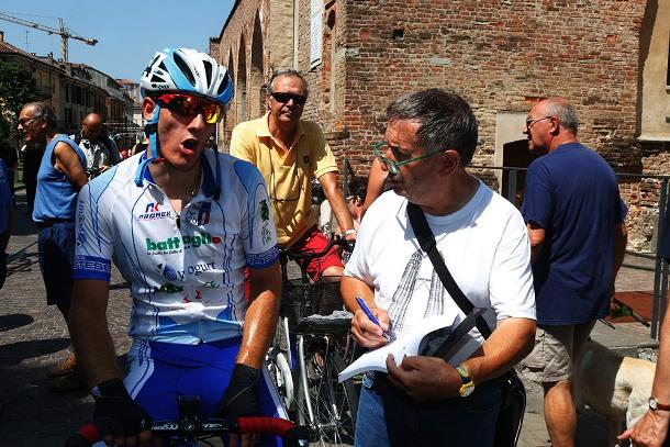 Pellis intervistato da Bernardi (Foto Pisoni)