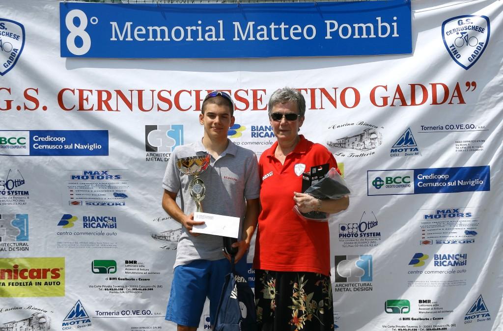 Premiazione primo classificato Madini Nicolo^ (Foto Berry)