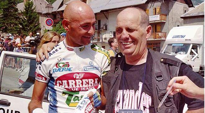 Sirotti Emanuiele e Marco Pantani