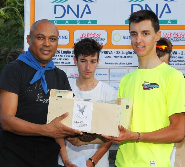Premiazione Conci 2^ classificato (Rodella)