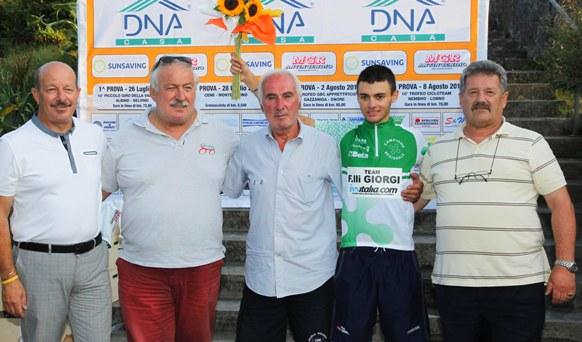 Simone Sano^ siciliano costretto ad emigrare e neo campione regionale lombardo Scalatori Juniores (Rodella)