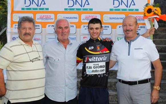Siciliano Simone Sano^ campione bergamasco Scalatori Juniores (Rodella)