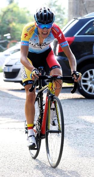 Simone Sano^ in azione (Rodella)