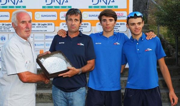 Premiazione Team Giorgi (Rodella)