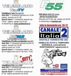 29.07.15 - LOGO - trasmissioni TV a cura di Angelo Gaudenzi