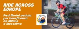 29.07.15 - Logo Fred Morini - Pedalata benefica verso Stoccolma