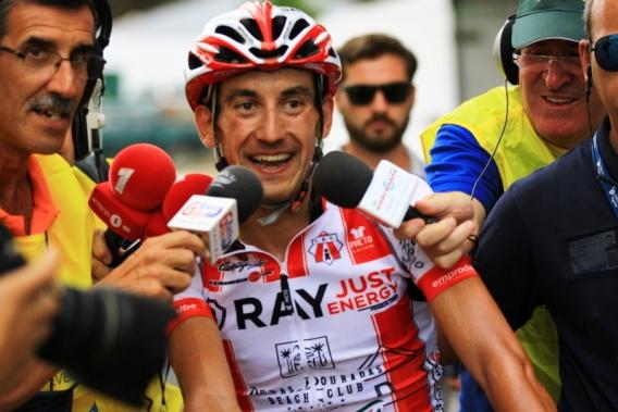 Garcia De Mateos vincitore 1^ Tappa (JC Faucher)