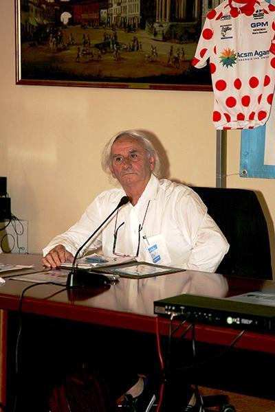 Franco Bettoni, presidente Fci Como (Foto Kia)