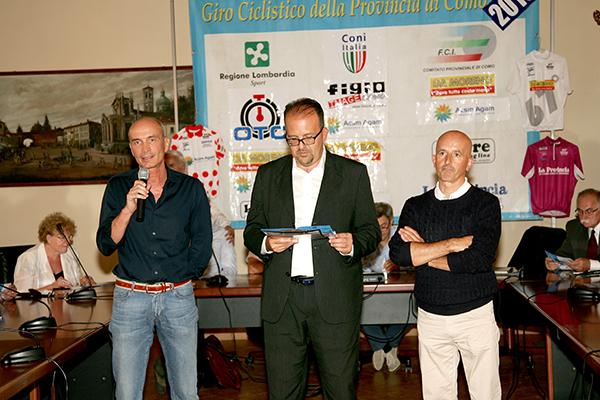 Organizzatori tappa di Cabiate (Foto Kia)