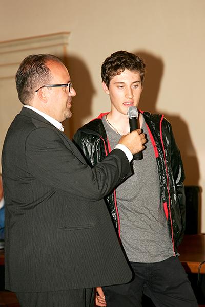 Filippo Conca, vincitore edizione 2014 (Foto Kia)