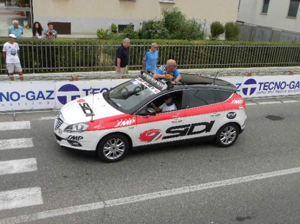 Alessio Baudone vicedirettore di corsa (Foto Nastasi)