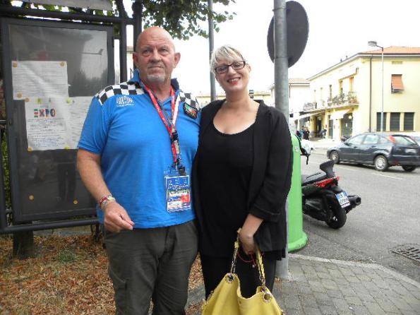 Baudone Alessio con vicepresidente FCI Daniela Isetti (Foto Nastasi)