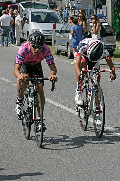 Trainini e Rizza in fuga verso la vittoria (Foto Kia)