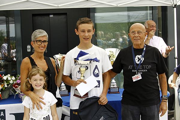 Premiazione Bogni, 3^ classificato (Foto Kia Castelli)