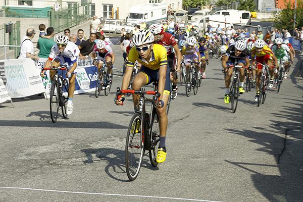 Lorenzo Gobbo conquista il 3^ posto a Villaguardia tra i 1^ anno (Foto Kia)