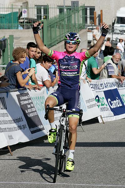 Andrea Montoli vince a Villaguardia (Foto Kia)
