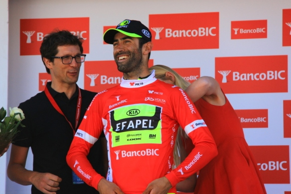 Cardoso maglia rossa leader classifica a punti (JC Faucher)