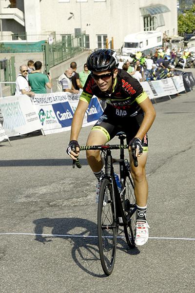 L'arrivo di Alessandro Motta 2^ classificato (Foto Kia)