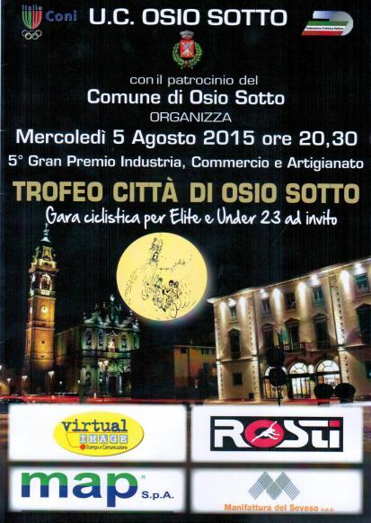 05.08.15 - LOCANDINA - 5^ GP Ind Comm & Art Citta^ di Osio Sotto
