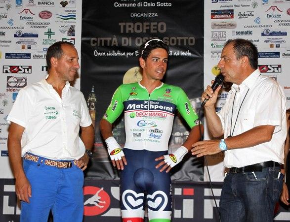 Sandro Brambilla intervista Stefano Perego e Cordiano Dagnoni (Foto Berry)