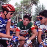 BUGNO INSIEME A FONDRIEST E CHIAPPUCCI-1995-PHOTO BETTINI