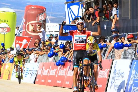 Delio Fernandez vince 7^ tappa (Foto JC Faucher)