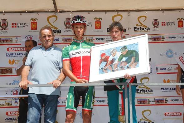 Un quadro per il Tricolore Elite, Davide Pacchiardo (Foto Pisoni)