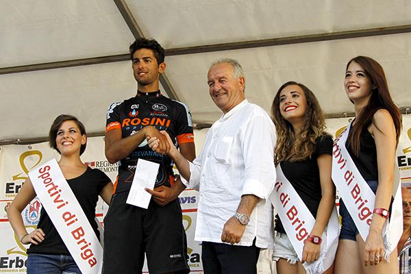 Premiazione di Pierpaolo Ficara (Foto Kia)