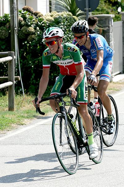 Tricolore Elite Davide Pacchiardo (Foto Kia)