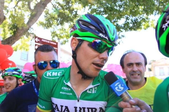 Eduard Prades intervistato (Foto JC Faucher)