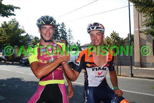 Gli azzurri del ciclocross Fabio e Manuel Todaro (Foto Pisoni)