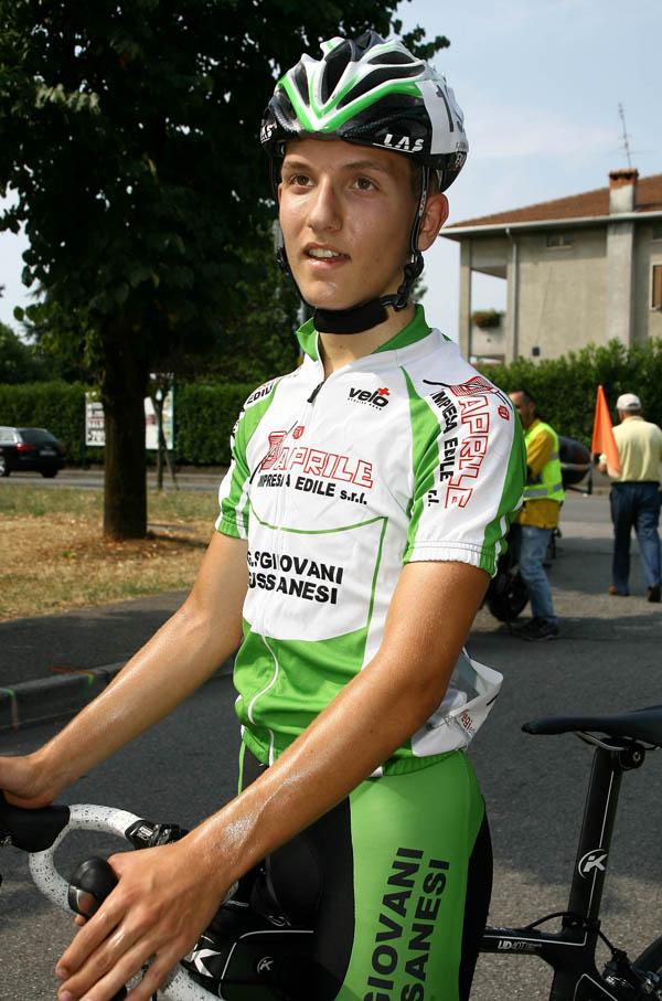Francesco Galimberti 2^ classificato (Foto Berry)