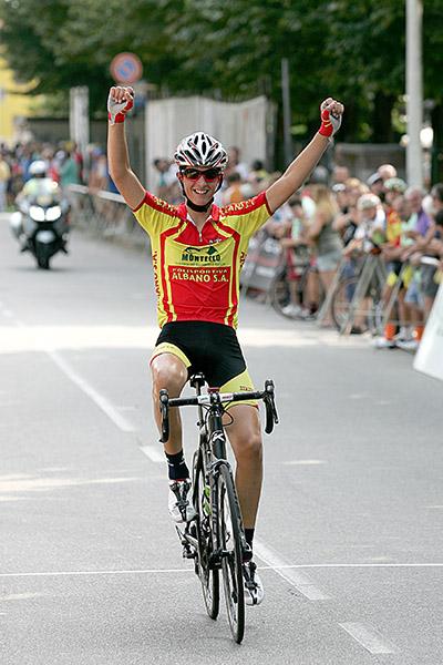 Yuri Brioni vince a Solbiate Olona (Foto Kia)