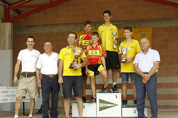 Premiazione Polisportiva Albano Sant'Alessandro (Foto Kia)