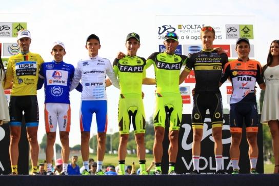 Protagonisti del 77^ Giro del Portogallo-Liberty Seguros (Foto Jean Claud Faucher)
